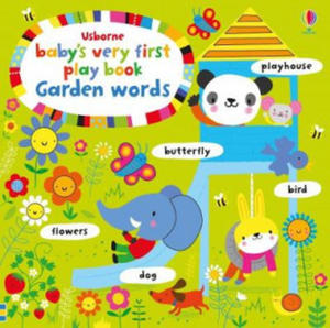 Baby's Very First Play book Garden Words - 2884462387
