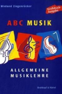ABC Musik, Allgemeine Musiklehre, Großdruckausgabe - 2836512521