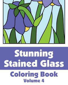 Stunning Stained Glass Coloring Book (Volume 4) - 2897835031