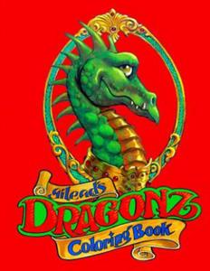 Dragonz: Coloring Book - 2856015577