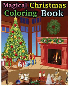 Magical Christmas Coloring Book - 2856015584