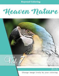 Birds in the Nature: Grayscale Photo Adult Coloring Book of Animals, de-Stress Relaxation Stress Relief Coloring Book: Series of Coloring Book for Adu - 2857958102