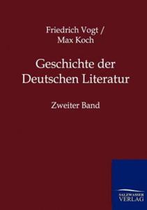 Geschichte der Deutschen Literatur. Bd.2 - 2826710868