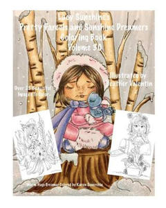 Lacy Sunshine's Pretty Parcels and Sunshine Dreamers Coloring Book Volume 30: Adorable Fairies, Mers and Other Cuties Coloring for All Ages - 2869781410