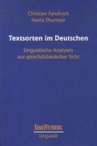 Textsorten im Deutschen - 2864005337