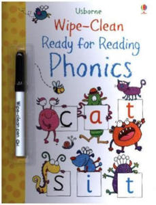 Wipe-Clean Ready for Reading Phonics - 2880464248