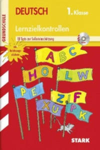 Lernzielkontrollen Grundschule, Deutsch 1. Klasse, m. MP3-CD - 2826819519