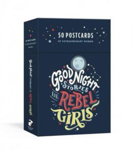 Good Night Stories for Rebel Girls: 50 Postcards - 2878390180