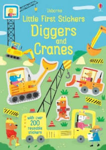 Little First Stickers Diggers and Cranes - 2904281784