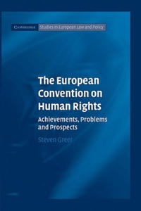 The European Convention on Human Rights - 2826883228