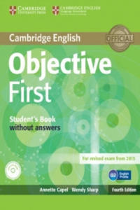 Objective First Student's Pack (Student's Book without Answers with CD-ROM, Workbook without Answers with Audio CD) - 2850279068