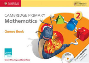 Cambridge Primary Mathematics Stage 2 Games Book with CD-ROM - 2854301042