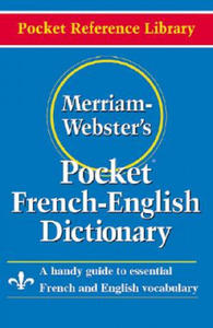 Merriam Webster Pocket French-English Dictionary - 2893496590