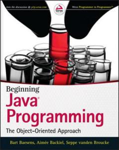 Beginning Java Programming - 2826672123