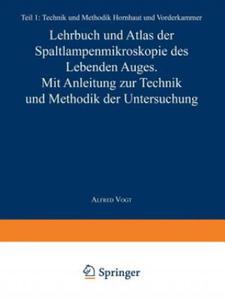 Lehrbuch und Atlas der Spaltlampenmikroskopie des Lebenden Auges - 2854580293