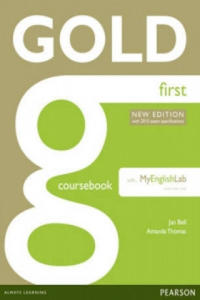 Gold First New Edition Coursebook with FCE MyLab Pack - 2826921941