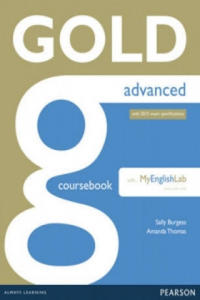 Gold Advanced Coursebook with MyLab Pack - 2854304368