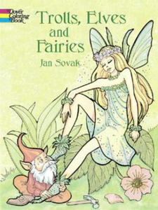 Trolls, Elves and Fairies Coloring Book - 2826621456
