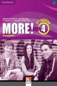 More! Level 4 Workbook (Książka) - 2882085940