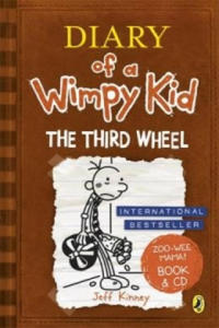 Diary of a Wimpy Kid: The Third Wheel book & CD - 2842361370