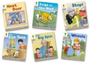 Oxford Reading Tree: Level 1 More A Decode and Develop Pack of 6 - 2882801008