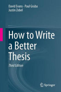 How to Write a Better Thesis - 2854216215