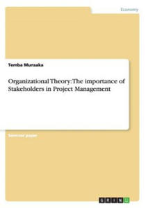 Organizational Theory: The importance of Stakeholders in Project Management - 2827043851