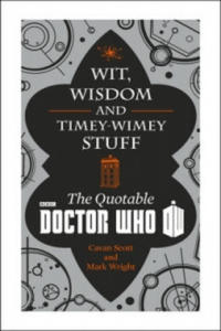 Doctor Who: Wit, Wisdom and Timey Wimey Stuff - The Quotable Doctor Who - 2826691663