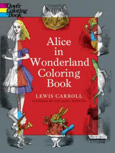 Alice in Wonderland Coloring Book - 2826716359