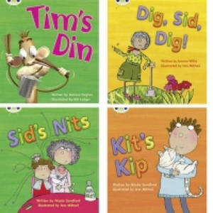 Learn to Read at Home with Phonics Bug: Pack 1 (Pack of 4 fiction books) - 2853290350