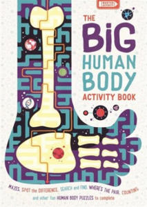 Big Human Body Activity Book - 2903334523