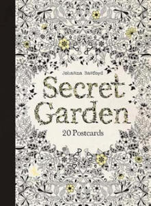 Secret Garden: 20 Postcards - 2826619812