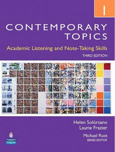 Contemporary Topics 1: Academic Listening and Note-Taking Sk - 2854307862