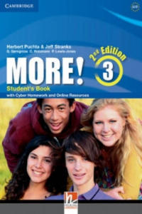 More! Level 3 Student's Book with Cyber Homework and Online Resources - 2880018632