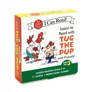 Learn to Read with Tug the Pup and Friends! Box Set 3 - 2854308748