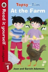 Topsy and Tim: At the Farm - Read it Yourself with Ladybird - 2826719555