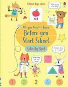 Wipe-Clean All You Need to Know Before You Start School Activity Book - 2902455378