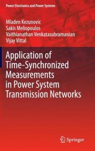 Synchrophasor Applications - 2854220455