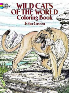 Wild Cats of the World Coloring Book - 2826627811