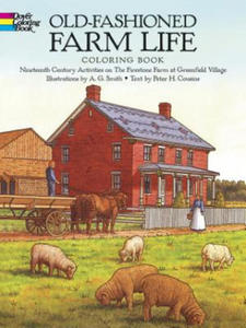 Old-Fashioned Farm Life Colouring Book - 2826619841