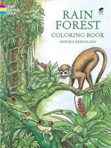 Rain Forest Coloring Book - 2826623748
