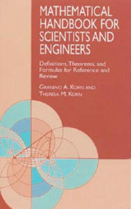 Mathematical Handbook for Scientists and Engineers - 2862454186