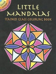 Little Mandalas Stained Glass Coloring Book - 2837113842