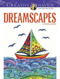 Creative Haven Dreamscapes Coloring Book - 2826656447