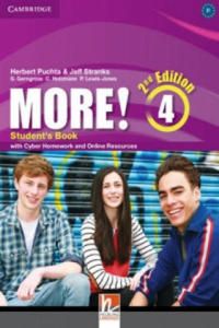 More! Level 4 Student's Book with Cyber Homework and Online - 2869617172