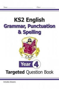 KS2 English Targeted Question Book: Grammar, Punctuation & S - 2854311583