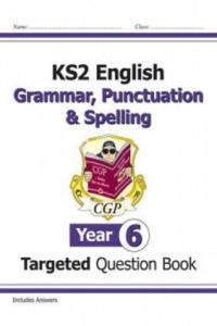 KS2 English Targeted Question Book: Grammar, Punctuation & S - 2854311585