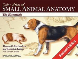 Color Atlas of Small Animal Anatomy - 2854312103