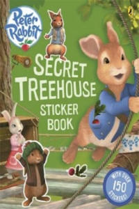 Peter Rabbit Animation: Secret Treehouse Sticker Activity Bo - 2854313244