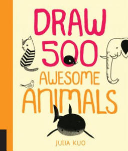 Draw 500 Awesome Animals - 2854313617